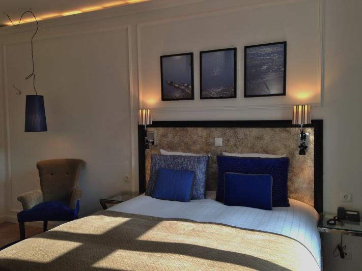Esse é o apartamento standard do Absalon Hotel. Chique, tranquilo, estiloso e limpíssimo!