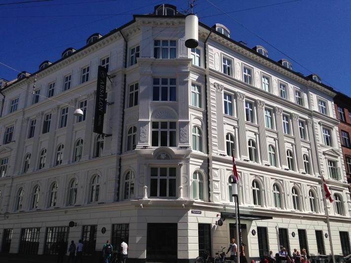 Outra opção de um bom hotel independente. Absalon Hotel em Copenhague.
